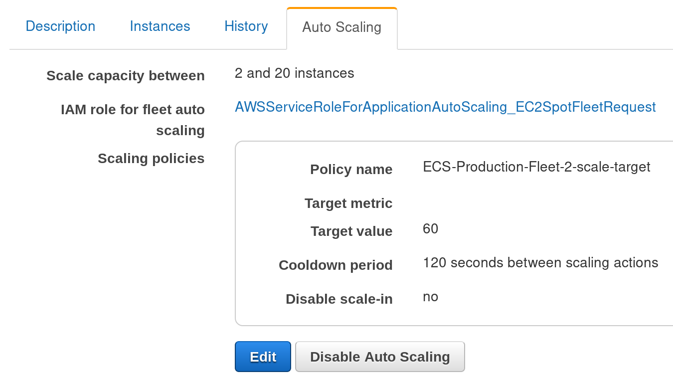 ECS Autoscaling Tips // Aaron's Blog